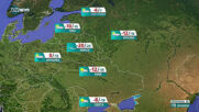 Прогноза за времето на NOVA NEWS (18.01.2021 - 21:00)