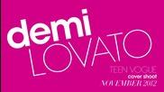 +превод!! зад кулисите на фотосесията на Teen Vogue Cover Shoot на Demi Lovato