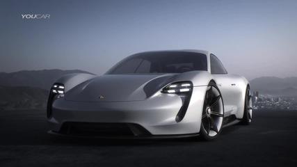 Премиера ! Porsche Mission E concept