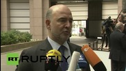 Belgium: Moscovici positive on loan tranche for Greece