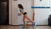 Смачкай бедрата и дупето с упражнения