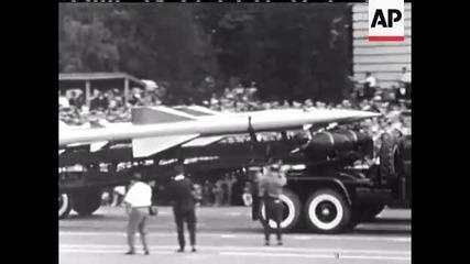 Sofia parade no sound 09. 09. 1963 Asocieted Press