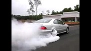Mercedes Kleemann Clk55 burnout