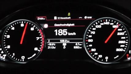 Audi A8 L W12 6.3 500 Ps 0-200 km/h