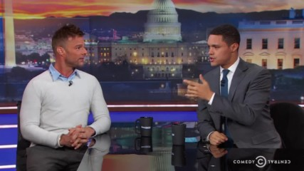 Ricky Martin -the Daily Show with Trevor Noah- 16-17.01.2018