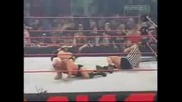 Wwe - Goldberg vs Ric Flair ( Специален съдия Randy Orton )