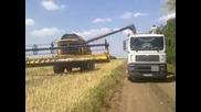 Summer 2011 - New Holland Cr980 And Laverda M306