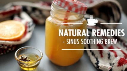 A winter remedy to soothe sinus pain