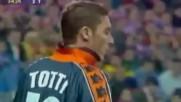 Atltico de Madrid vs As Roma 1998 /1999