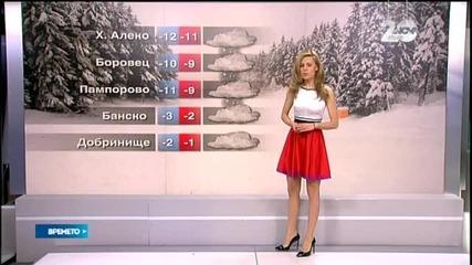 Прогноза за времето (28.12.2014 - централна)