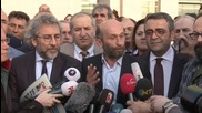 Turkey: Cumhuriyet editors defiant after 2nd hearing in espionage trial