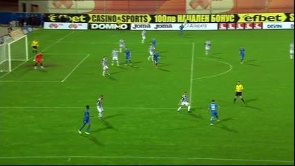 Роман Прохазка вкара за 2:0 за Левски срещу Локо Пд