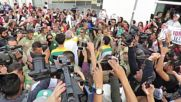 Brazil: Anti-government protesters disrupt Olympic torch relay in Sao Paulo