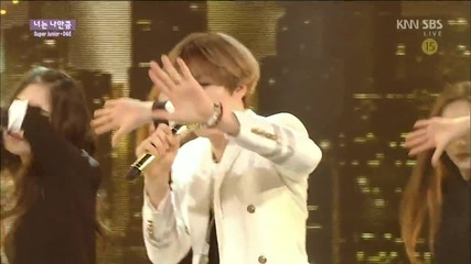 150315 Super Junior D&e - Growing Pains live Inkigayo