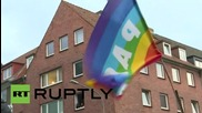 Germany: Protesters target G7 meeting in Luebeck