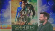"""Hugh Jackman Breaks Out Wolverine Claws, Teases """"One Last Time"""""""