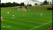 Вижте двата гола на Левски срещу Търгу Муреш