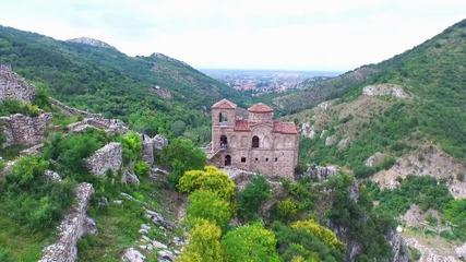 Асеновата крепост, заснета от въздуха и интересни факти за нея
