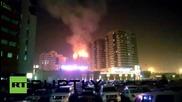 UAE: Sharjah skyscraper engulfed in flames