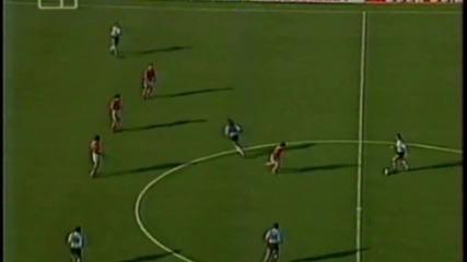 Футбол Аржентина - България 1994 - Първо полувреме - Част 1/4 (високо качество)