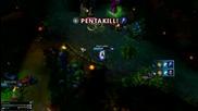 Bg League of Legends : Ezreal Pentakill
