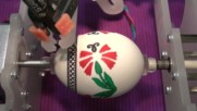 Великден - оцветяване на великденски яйца с Eggbot робот