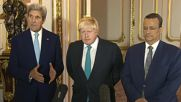 UK: Kerry and Johnson call for immediate and unconditional ceasefire in Yemen