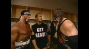 Hulk Hogan Therock And Kane.