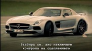 Top Gear - Mercedes Sls Amg Black Series и Mercedes Sls Amg Electric Drive