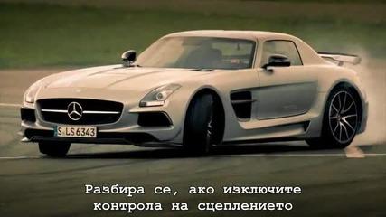 Top Gear - Mercedes Sls Amg Black Series и Mercedes Sls Amg Electric Drive