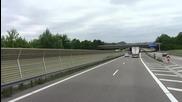 Кадри от А6 в Германия(трафик)