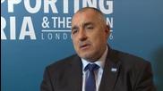 Борисов: Ще плащаме бежанците да стоят близо до Сирия