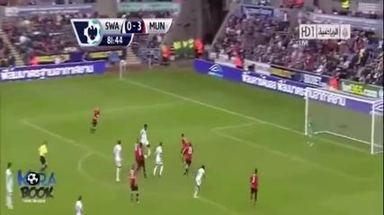 Swansea 1-4 Manchester United