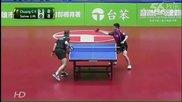 Най-ексцентричния мач на тенис на маса игран някога!!! ... Целия мач