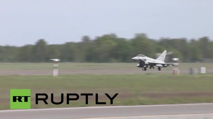 Estonia: NATO's 'BRTE XXI' air drills kick off at Amari Air Base