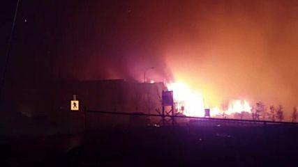 Canada: Massive wildfire continues burning through Alberta, Canada