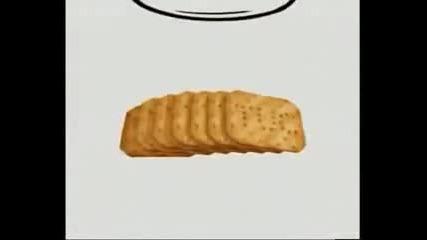 Реклама на Tuc-гладният дядо