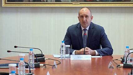 Радев: България очаква от Северна Македония политическа воля
