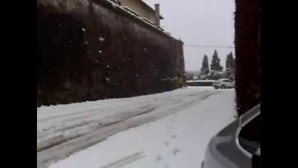 Bmw X6 На сняг