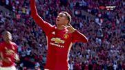 Лингард изведе Юнайтед напред в спора с Лестър