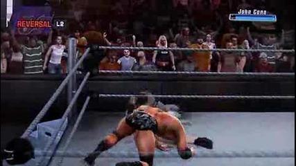 Smackdown Vs Raw 2009 Ps2 Батиста Срещу Джон Сина