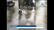 Силен дъжд се изсипа над Варна - Новините на Нова