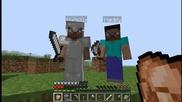 Minecraft-survival еп.11 Със theddy, vencopenco и Sixtysix
