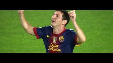Lionel Messi - Toп 10 гола през 2012-2013