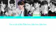 BTS (방탄소년단) - ^FAKE LOVE^ [Color Coded Lyrics Han/Rom/Eng] by I LOVE KPOP