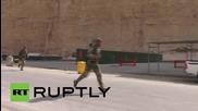 Руските специални части завършват годишното военно състезание