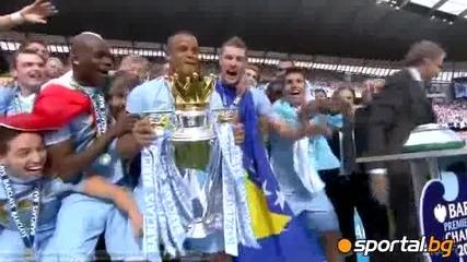 Сити вдига титлата на Англия :(
