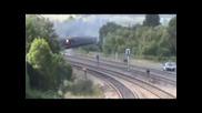 Три Парни Локомотива се Състезават !?! Great Steam Train Race 2010