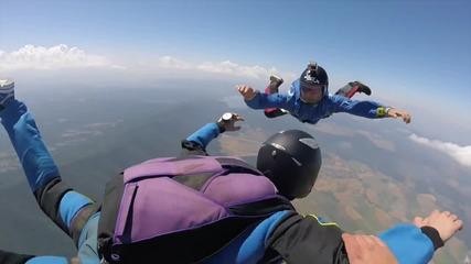 Скок с парашут, странично плъзгане