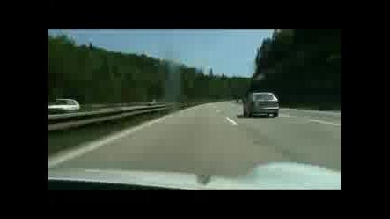 Лудница!..на магистрала с Porsche 911 Gt3